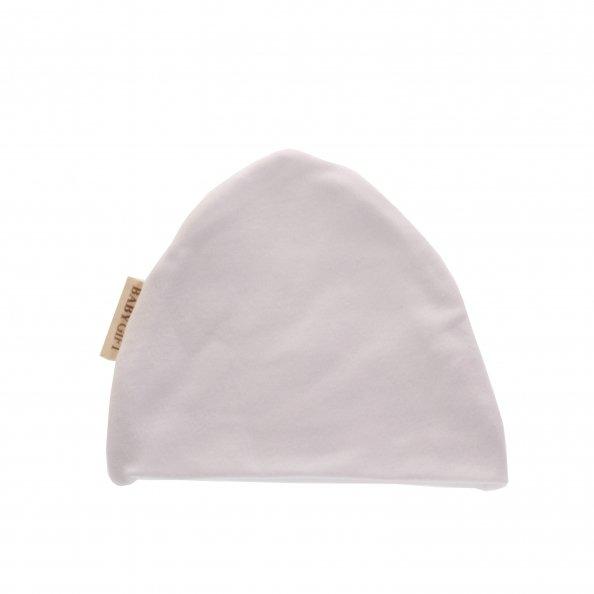 כובע בצבע לבן