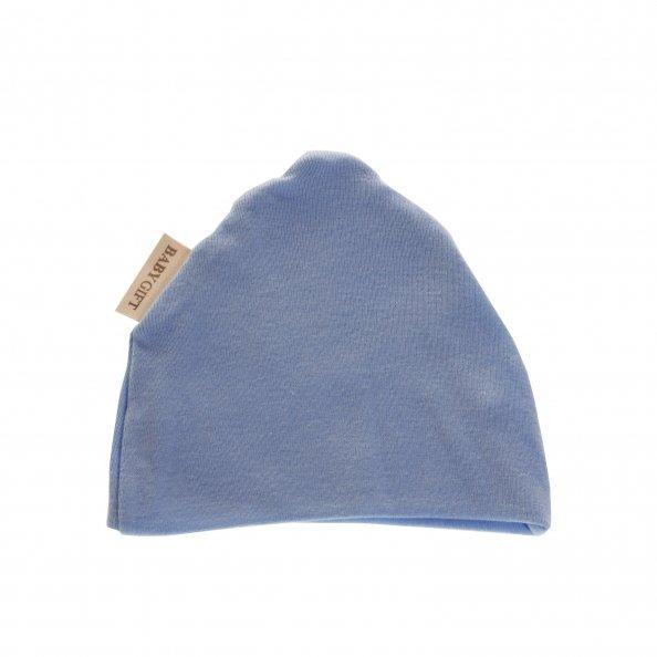 כובע בצבע תכלת